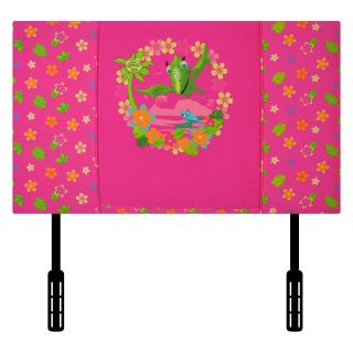 Kidz World Jim Henson Dinosaur Train Twin Headboard   Tiny Pink   Headboards