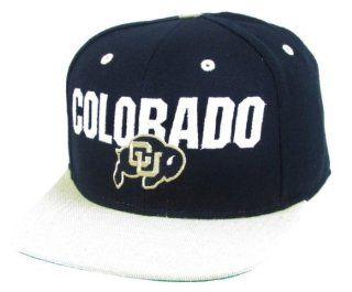 adidas Colorado Golden Buffaloes Black & Beige Flat Brim Snapback Hat  Sports Fan Baseball Caps  Sports & Outdoors