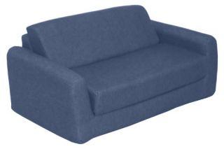Childrens Indigo Denim Sofa Sleeper   Twin   Specialty Chairs