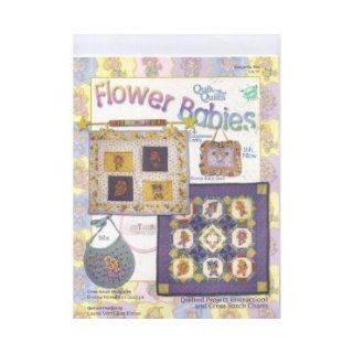 SALE On $39.95 Flower Babies Quik Cross Stitch Quilts with Machine Embroidery CD (The Vermillion Stitchery's Quik Cross Stitch Quilts with Machine Embroidery CD, Quik Cross Stitch Quilts [Book (804 and 805 CD) 12 page paperback and CD]) Donna Vermill