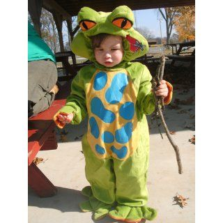 Lil Characters Unisex baby Newborn Froggy Costume Infant And Toddler Costumes Toys & Games