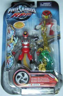 Power Rangers RPM Ranger Red Guardian Toys & Games