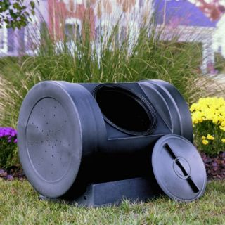 Compost Wizard 90 Gallon Recycled Plastic Compost Tumbler   Compost Tumblers