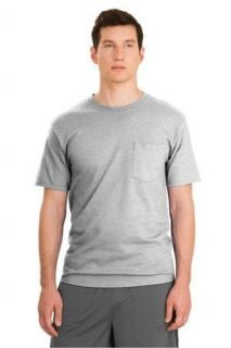 Hanes Tagless 100% ComfortSoft Cotton T Shirt with Pocket at  Men�s Clothing store