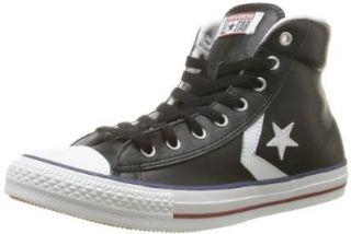 Converse Star Player EV Mid Fashion Boots Sneakers, Black  White (USW 8 / EUR 39 / 24.5 CM) Shoes