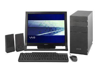 Sony VAIO VGC RB52 Desktop PC (Intel Pentium D Processor 820, 1 GB RAM, 250 GB Hard Drive, DVD+R Dbl Layer/DVD+/ RW Drive)  Desktop Computers  Computers & Accessories