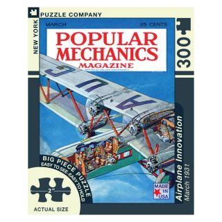Airplane Innovation   Large Format 300 Piece Jigsaw Puzzle   Jigsaw Puzzles