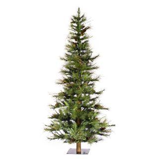 6 ft. Ashland Unlit Ashland Fir Christmas Tree with Wood Trunk   Artificial Christmas Trees