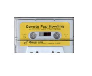 Western Rivers 824 Mity Call Coyote Pup Howling Cassette Tape  Coyote Calls And Lures  Sports & Outdoors