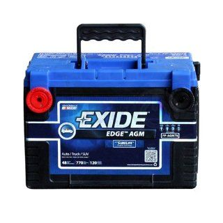 Exide Edge FP AGM78 Flat Plate AGM Sealed Automotive Battery: Automotive