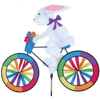 Premier Designs Bunny Bicycle Spinner   Wind Spinners