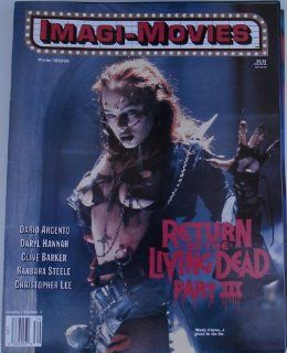 Imagi Movies Magazine Vol.#1 #2 Winter 1993/94 Mindy Clarke, Return Of The Living Dead #3 : Other Products : Everything Else