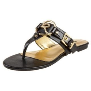 Rocawear Women's Rica Sandal,Black,6 M US: Shoes