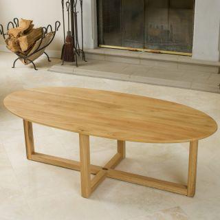 Montego Solid Oak Coffee Table   Oak   Coffee Tables