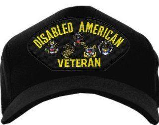 Disabled American Veteran Navy Blue Ball Cap Hat Automotive