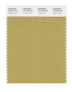 PANTONE SMART 16 0730X Color Swatch Card, Antique Gold   House Paint