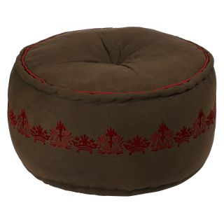 Surya Rooney Pouf   Ottomans