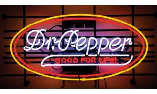 Dr Pepper Neon Pub Sign   Neon Signs