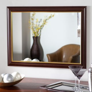 Milan Large Framed Wall Mirror   23.6W x 31.5H in.   Wall Mirrors