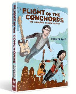 Flight of the Conchords: Season 2: Jemaine Clement, Bret McKenzie, Rhys Darby, Kristen Schaal, Arj Barker, Leigh Ann Larkin, Lucy Lawless, Madison McKinley, Brian Sergent, Frank Wood, Elli, Andrew Stirling MacDonald, James Bobin, Michel Gondry, Taika Waiti