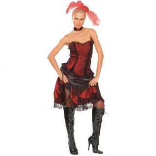 Wicked Costumes Wild West Sexy Saloon Girl Halloween Costume: Clothing