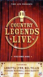 Country Legends Live; Volume 1 Loretta Lynn, Mel Tillis, Barbara Mandrell, Eddie Rabbitt, The Gatlin Brothers, Moe Bandy, Joe Stampley, The Kendalls, Larry Gatlin, Jim Ed Brown Movies & TV