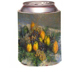 Rikki KnightTM Claude Monet Art Still Life Design Drinks Cooler Neoprene Koozie Cold Beverage Koozies Kitchen & Dining