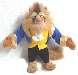 "Disney Beauty and the Beast Plush 15"" BEAST Doll by Mattel 1992 Toys & Games"