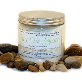 Natural Cleansing Detox Green Tea Dead Sea Bath Salt   Spa Treatment  Bath Minerals And Salts  Beauty