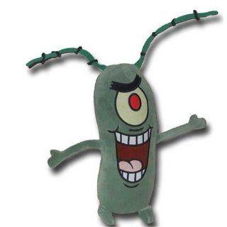 Plankton 12 Inch Plush Stuffed Animal from SpongeBob Squarepants Toys & Games