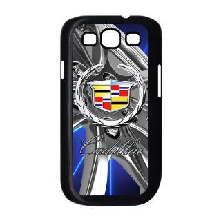 Special design Samsung Galaxy S3 I9300 Hard Cover Case Cadillac logo against Background Snap On Cell Phones & Accessories
