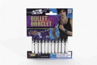 Bullet Bracelet (Silver) Adult Accessory: Jewelry