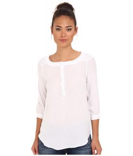 BB Dakota Arti Top Womens Long Sleeve Pullover (White)