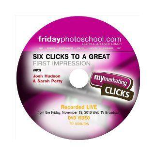 My Marketing Clicks   SIX Clicks with host Josh Hudson & Sarah Petty (Tutorial DVD) Sarah Petty, Josh Hudson Books