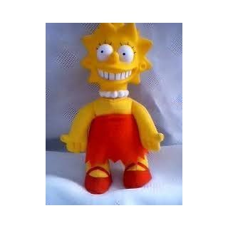 "Simpsons Lisa Doll 8"" Burger King Toy"