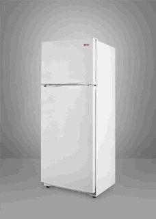 Summit FF882W 23 1/4 8.8 cu. ft. Top Freezer Refrigerator, White Appliances