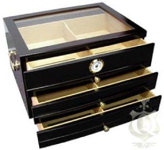 Quality Importers HUM 3DR Palermo Desktop Humidor   Decorative Boxes