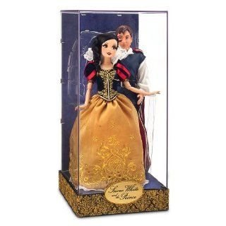 Disney Exclusive 11.5 Inch Fairytale Designer Collection Doll Set Snow White & The Prince Toys & Games