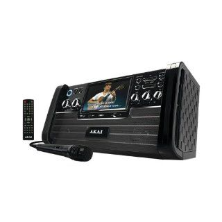 Akai Ks 886 Cd+G Karaoke Player With 7 Tft & Usb: Electronics