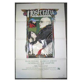 NOSFERATU THE VAMPYRE / ORIGINAL U.S. ONE SHEET MOVIE POSTER ( WERNER HERZOG ) WERNER HERZOG Entertainment Collectibles