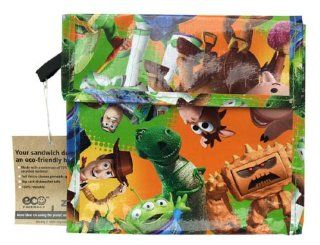 Zak! Disney Toy Story Sammy Sak (Sandwich Sack): Kitchen & Dining