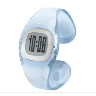 Nike Presto Digital Smooth Small LX Women's Watch   Clear/Blue   WT0025 901 : Sport Watches : Watches