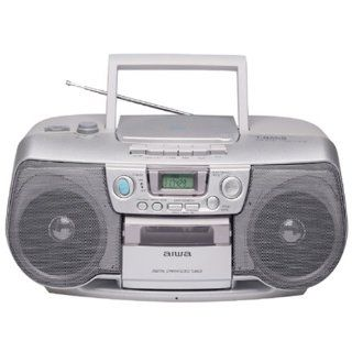Aiwa CSD TD902 CD/Cassette Boombox : MP3 Players & Accessories