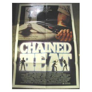CHAINED HEAT / ORIGINAL U.S. ONE SHEET MOVIE POSTER (LINDA BLAIR): LINDA BLAIR: Entertainment Collectibles