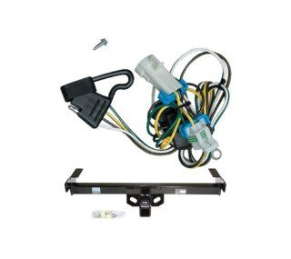 Class 3 Trailer Hitch & Wiring for Chevy S 10 / GMC S 15 & Sonoma /Isuzu Hombre: Automotive