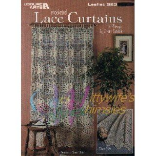 Crocheted Lace Curtains (Leisure Arts # 923 crochet patterns): Eunice Svinicki: Books
