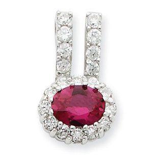 Sterling Silver CZ Pendant: West Coast Jewelry: Jewelry