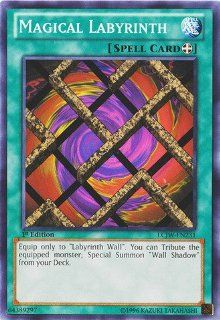 Yu Gi Oh   Magical Labyrinth (LCJW EN231)   Legendary Collection 4 Joey's World   1st Edition   Common Toys & Games