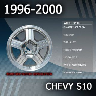 """1996 2000 Chevy S10 16"""" Replacement Wheels Set of 4 Automotive"""