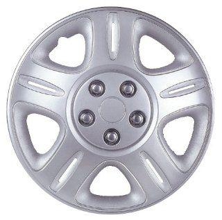 "Drive Accessories KT943 16SL 16"" Plastic Wheel Cover, Silver Lacquer (Alloy Color): Automotive"